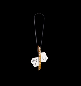 91080 - Pendant - Stephie-Stone, rubber band